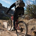 This trail alternates between rock and smooth terrain before your climb up.- Lunch Loops Mountain Bike Trails: Andy's Trail