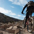The name of the game is to climb.- Lunch Loops Mountain Bike Trails: Andy's Trail