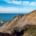 Spectacular coastal views.- Pedro Point Loop Hike