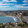 Pacifica State Beach from the summit.- Pedro Point Loop Hike