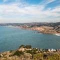 Looking north toward San Francisco.- Pedro Point Loop Hike