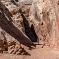 Getting deeper.- Little Wildhorse Canyon Hike