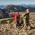 Nearing the top of Panorama Ridge.- Panorama Ridge Hike