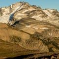 Looking northeast at Castle Towers Mountain.- Panorama Ridge Hike