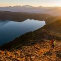 Sunset on Panorama Ridge.- Panorama Ridge Hike