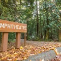Amphitheater at Alice Lake.- Alice Lake Campground