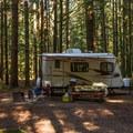 Camping at Alice Lake.- Alice Lake Campground