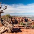 Grand View vista.- Colorado National Monument