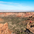 View from Ute Canyon overlook.- Colorado National Monument