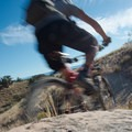 Riding PBR in the 18 Road Mountain Bike Trails.- 18 Road Mountain Bike Trails: PBR