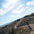 Great curves on this trail.- 18 Road Mountain Bike Trails: PBR