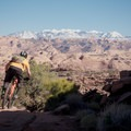 Open views along the Captain Ahab Trails.- Amasa Back Mountain Bike Trails: Captain Ahab