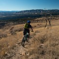 Epic views from Island in the Sky.- Oil Well Flats Mountain Bike Trail