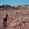 Riding the MOAB Brand Trails.- MOAB Brand Mountain Bike Trails: Circle O