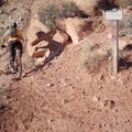 Junctions are well marked.- Pipe Dream Mountain Bike Trail