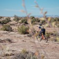 Riding the Rockin' A Trial.- MOAB Brand Trails: Rockin' A