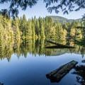 Edith Lake.- Four Lakes Trail Hike