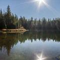 Fawn Lake.- Four Lakes Trail Hike