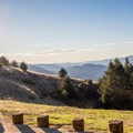 Viewpoint on Highway 35.- Skyline to the Sea Trail: Saratoga Gap to Big Basin Headquarters