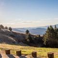 Viewpoint on Highway 35.- Skyline-to-the-Sea Hike: Saratoga Gap to Big Basin Headquarters