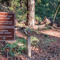 Waterman Gap Trail Camp.- Skyline to the Sea Trail: Saratoga Gap to Big Basin Headquarters