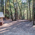 Waterman Gap Trail Camp.- Waterman Gap Trail Camp