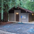 Restrooms at Jay Trail Camp.- Jay Trail Camp