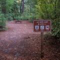Designated bike camping spots.- Jay Trail Camp