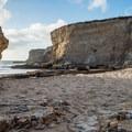 The small cove at Bonny Doon Beach. - Bonny Doon Beach