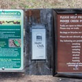 Information about the trails in Moore Creek Preserve.- Moore Creek Preserve Hiking Trails