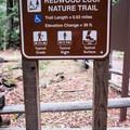Redwood Trail Stats.- Redwood Hiking Trail