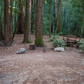 Sempervirens Campground.- Sempervirens Campground