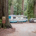 Camp host.- Blooms Creek Campground