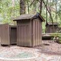 Restrooms at Blooms Creek Campground.- Blooms Creek Campground