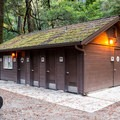 Restrooms and showers.- Blooms Creek Campground