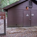 Connector trail to Redwood Trail.- Blooms Creek Campground