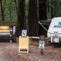 Campground host.- Huckleberry Campground