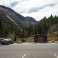 Timpooneke Trailhead facilities.- Timpooneke Campground