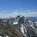 Mount Idaho, to the south of Borah, is another of Idaho's nine 12,000-foot peaks.- Borah Peak Climb