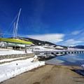 Dillon Marina boat launch.- Dillon Reservoir