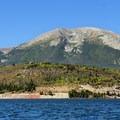 Buffalo Mountain from Dillon Reservoir.- Dillon Reservoir