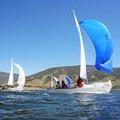 Sailing on Dillon Reservoir.- Dillon Reservoir