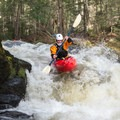 Small rapids abound.- Green River Kayaking: Garfield Road to Route 15