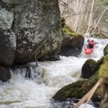Young Buck Gorge is often run, but it has significant hazards.- Green River Kayaking: Garfield Road to Route 15