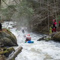 The lead in to Humble Pie is trickier than you might expect.- Green River Kayaking: Garfield Road to Route 15