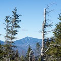 Whiteface Mountain is framed nicely.- Jay Mountain Hike