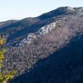 Exposed ridges pervade the slopes around Jay Mountian.- Jay Mountain Hike