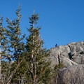 Hikers make the final push to the summit.- Jay Mountain Hike