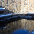 View of the Hart Mountain Hot Springs.- Hart Mountain Hot Springs