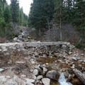 Footbridge over White Pine Creek.  - Maybird Lakes Hike